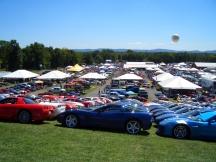 Corvettes at Carlisle - 2012