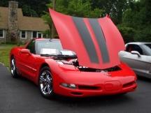 1999 Corvette at Show