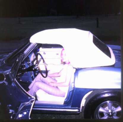 1965 Corvette and Diane 2